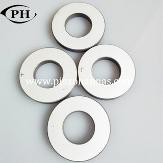 142 KHz piezo rings with silver electrodes for ultrasonic sensor