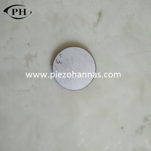 3MHz PZT piezo ceramic disc for material stress sensor