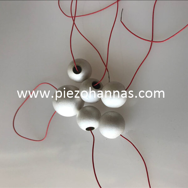 most popular piezoelectric ceramic shpere components for underwater transducer