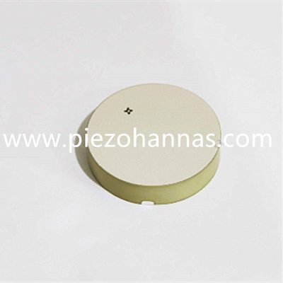 PZT Material Piezo Ceramic Disc Crystal for Ultrasonic Transducer