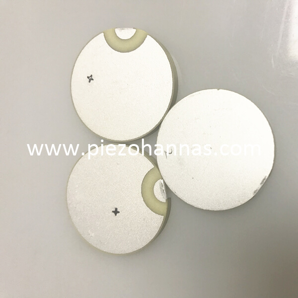 PZT material piezoelectric disc transducer applications for