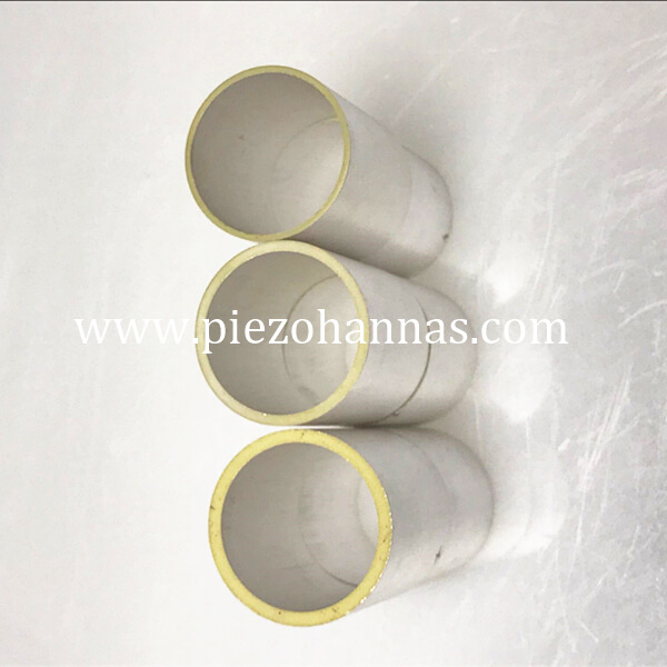 low cost piezo cylinder tube for underwater acoustic