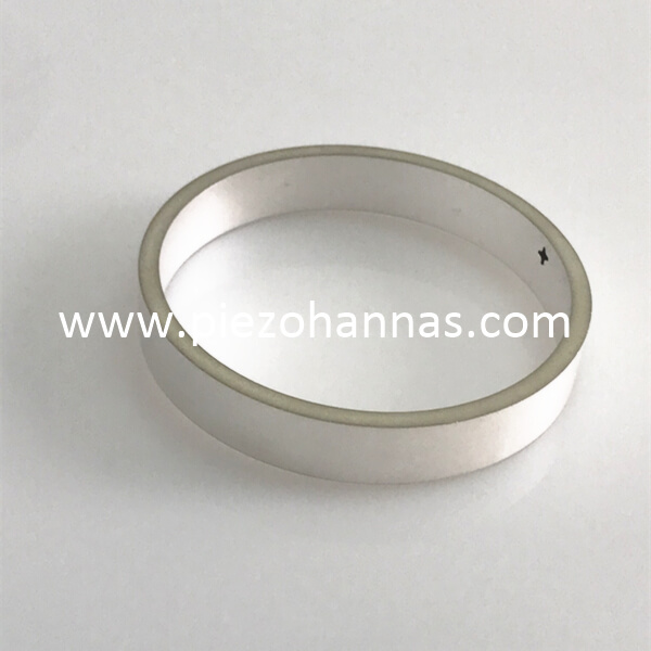 Pzt 5a Piezoelectric Tube Piezoelectric Transducer Ultrasound for Hydrophone