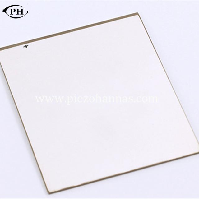pzt material piezoelectric plate sensor for pressure