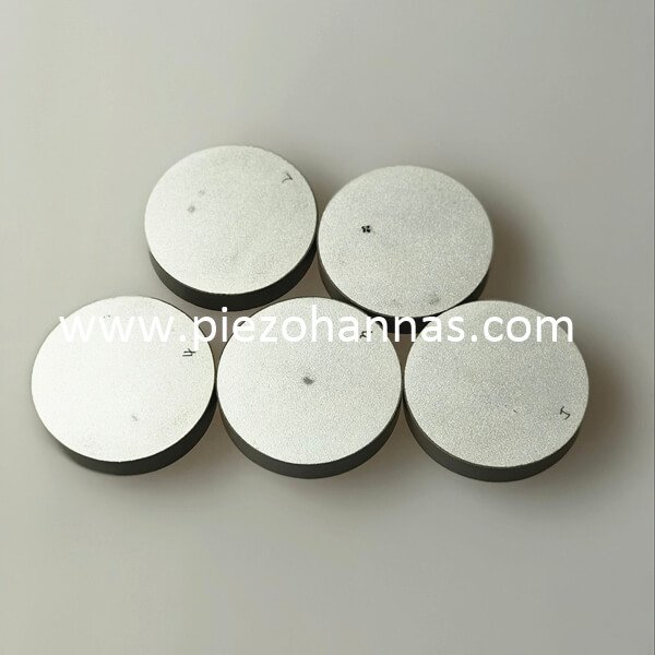 low frequency piezoelectric transducer piezoelectric ceramics disc pzt 8