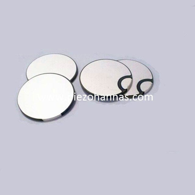 1Mhz Peizoelectric Discs Piezo Ceramic Bimorph for Ultrasonic Flow Meters