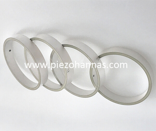 piezoelectric material piezoceramic cylinder tubes for ocean project