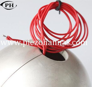 low cost piezo sphere circular for underwater device