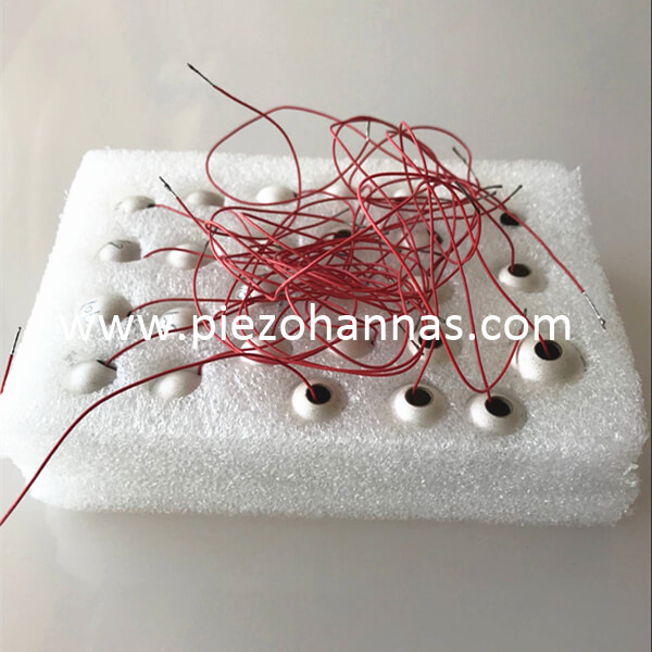 price of piezoelectric transducer piezo sphere for sonar