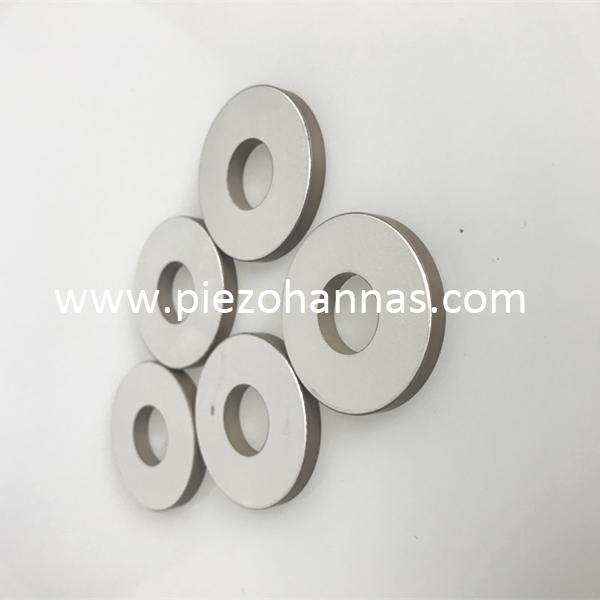 piezoelectric ceramics ring pzt 8 piezoelectric ultrasonic transducer