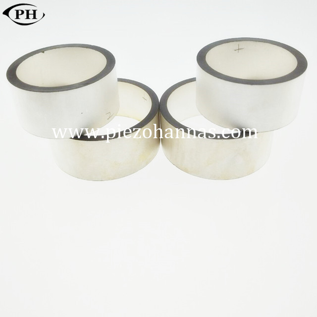 ring shape ultrasonic piezoceramic ring for ignition