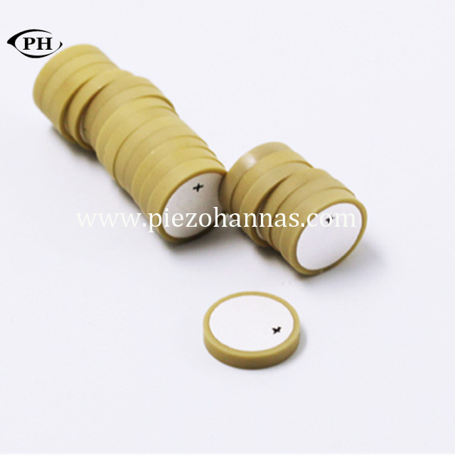 high density piezo ceramic cylinder P5 materials piezo transformer