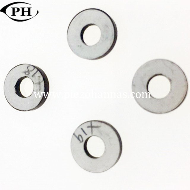 buy 38*15*5mm piezoelectric rings sensor applications for ultrasonic cleaning