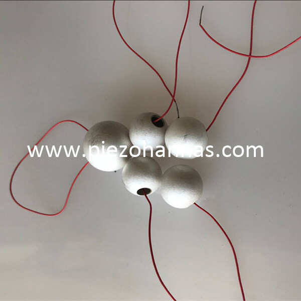 Buy Piezoelectric Sphere Transducer for Underwater Acoustic