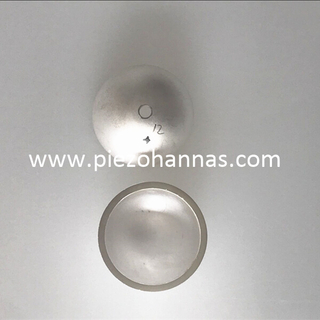 Ultrasonic piezo ceramic element for HIFU beauty sensor