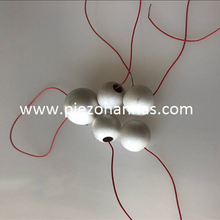 pzt 5a material hollow ball sphere piezo ceramic for sonar
