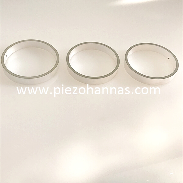 pzt piezoceramic cylinder tube for underwater acoustic modems