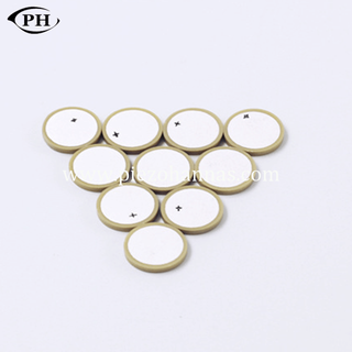 low cost electrode piezo disc PZT material for acoustic guitar