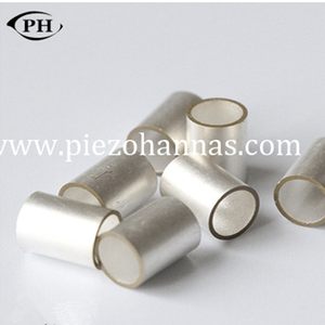 tube piezoelectric sensor crystal for ultrasonic atomizing piezoelectric