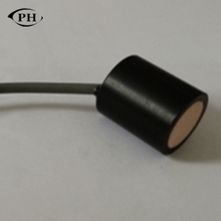 low cost ultrasonic transducer for gas flow meter