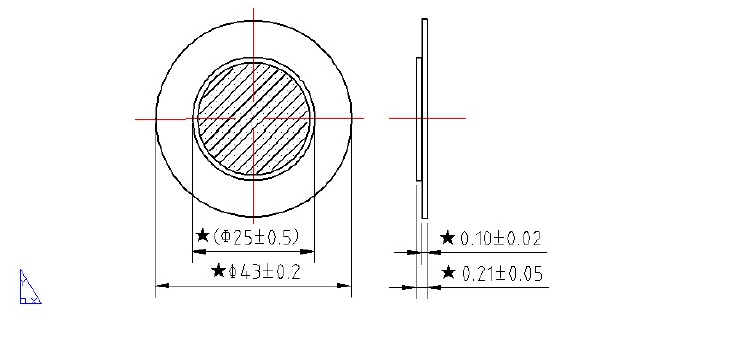 capacitive pzt materials piezo disk vibration sensor from