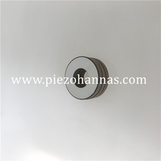 Nickel Plating Piezo Ceramic Pzt Ceramic Ring Custom Order