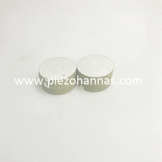 PZT5 material 1Mhz piezo ceramic disc for ultrasonic flowmeter
