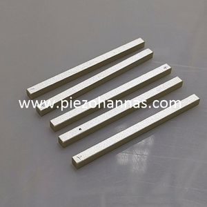 PZT5A Piezo Ceramic Rectangular Plate for Acceleration Sensors