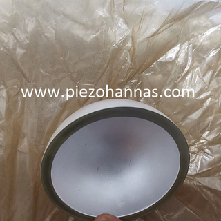 PZT5 Piezo Ceramic Bowl Piezoelectric Hemisphere for Underwater Acoustics