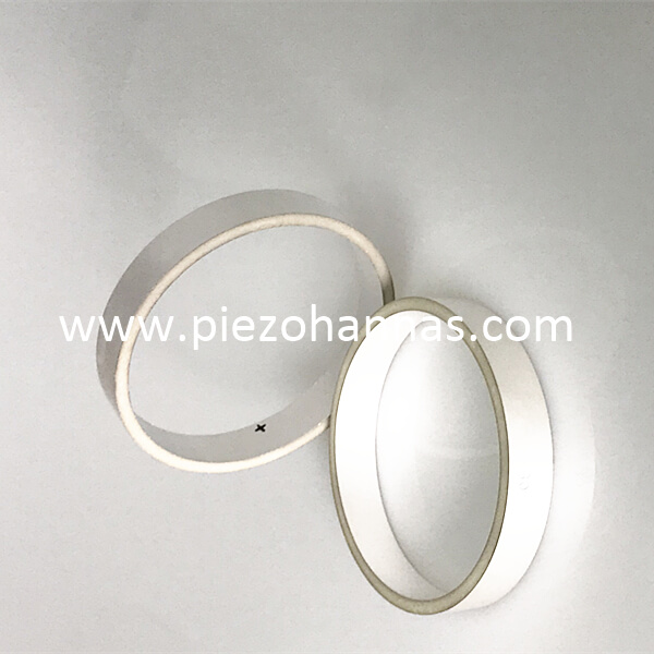 High Sensitivity Piezoceramic Ceramic Cylinder for Underwater Sounder Transducers
