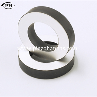 200Khz Lead Free BT1 Piezoelectric Ceramic Piezo Ring