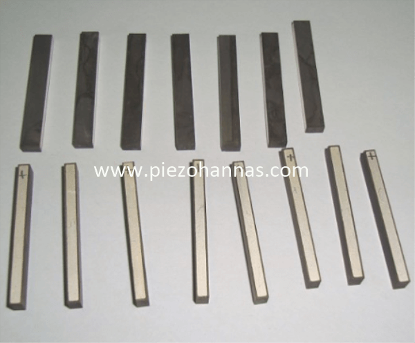 PZT5A Ultrasonic Transducer Piezoceramic Strip for Hydrophone