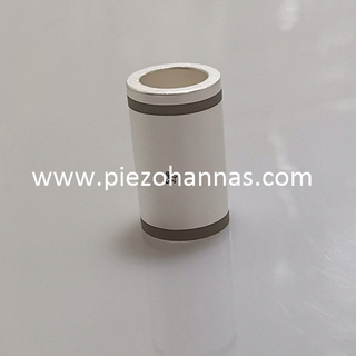 PZT5A Piezo Ceramic Tube Component for Laser Thickness Measurement